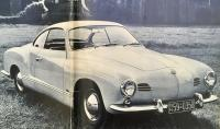 1955 Gazelle beige lowlight Karmann Ghia coupe