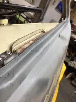 Microbus window sill repair