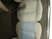 Early model Eurovan seat construction