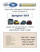 Springfest 2019 flyer