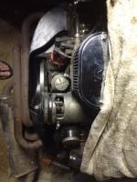 Cut down rear tin for 091 in a Ghia.