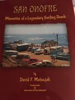 San Onofre surfing book