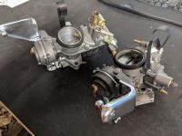 Restored SOLEX 32-34 PDSIT-2&3 Bay Window Bus Carburetors