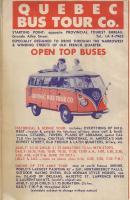 1959 Quebec Bus Tour Co. Map