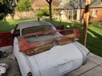1968 ghia rear seat base