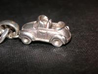 A pure silver Bug necklace jewel!