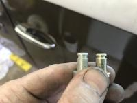 Emergency Brake Arm Pivot Pin Comparison