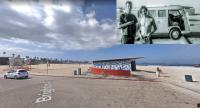 1965 Tourist Delivery - shot 1968 Ocean Beach CA & now.