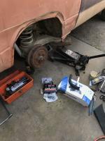 1981 Westfalia brakes and shocks