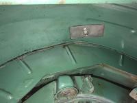 Rear Wheel Wells '65 Standard