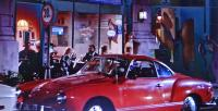 Karmann Ghia seen in 'The Man With Two Brains'