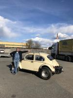 65 Jada VW Service Baja Bug