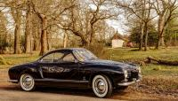 My '58 Karmann Ghia Birthday Outing