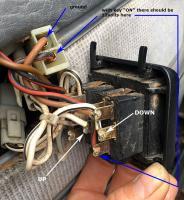 Vanagon power window switch test