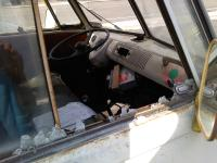broken into bus