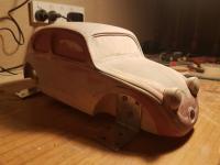 Replica of 1935 scale model