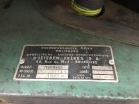 1966 Single Cab engine area VIN plate