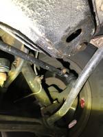 Brake fluid leak