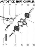 Autostick shift coupler
