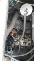 vacuum line from oil tube to air cleaner