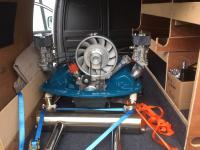 Transporting Engine from Builder