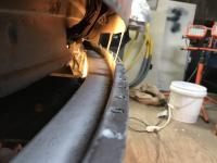 Washer bottle panel repair
