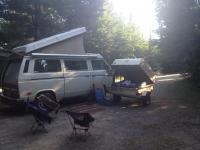 86 Westy w trailer