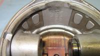 Nural low compression piston