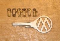 How to re-key 64-67 Ghia doors