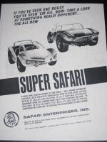 Super Safari Buggy Ad