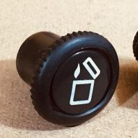 Genuine Volkswagen Beetle lighter buttons