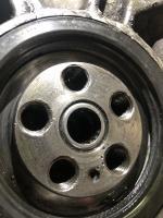 Crank holes