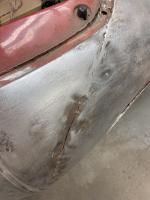 Poor fender welds