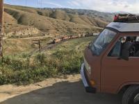 First roadtrip -Mojave Desert Westy