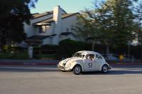 Hometown Herbie spotted on the way to Kelley Park, San Jose, 2019.