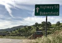 First roadtrip Mojave Desert Westy