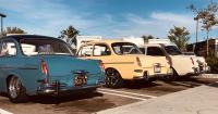 H2O Negative VW Squadron April 2019 Meet In N Out Burger Signal Hill Notchback Row 1963 1964 1966 Cal Look Slammed Narrowed Fuchs Earlies West Side Volkswagen Club