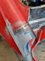 Rear drip rail repair