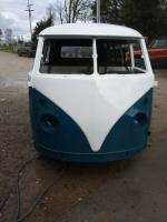 Camper back from paint