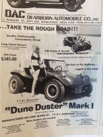 Dune Buggy Ads