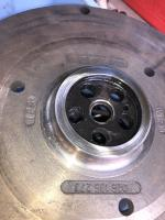 Resurfaced flywheel