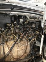 74 Beetle PO Mess of wires!