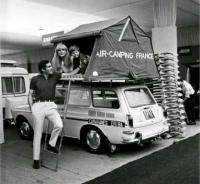 Squareback with top tent