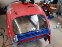 Rear vent repair