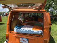 HoboBus 73 orange bus westy weekender