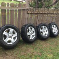 Touareg wheels oem