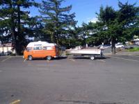 mein Bus und mein Boot