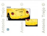 VW Sedan spoliers