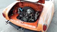 freshened up engine compartment