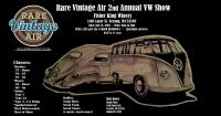 Rare Vintage Air 2nd Annual VW Show in Verona, Wisconsin